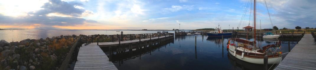 Hafenbecken Hjortø