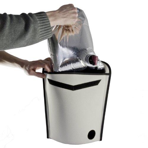 Tragbarer Weinkühler für Weinschlauch
